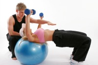 Make the fitness ball part of your workouts