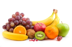 Eat plenty of fresh fruits and vegetables