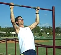 Chin-ups are excellent for building back muscles and increasing the metabolism